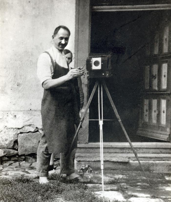 Historie Fotograf Woias